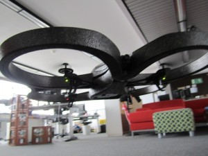 Flying AR.Drone